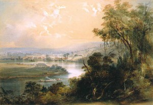 Brisbane 1855 river martens
