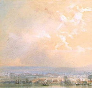 Brisbane River - Conrad Martens